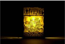 One Piece THOUSAND SUNNY Anime LED Tischleuchte Nachtlicht tablelamp 25.5X18cm