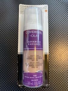 COVERGIRL + Olay Advanced Radiance Age Defying Foundation # 140 - NATURAL BEIGE