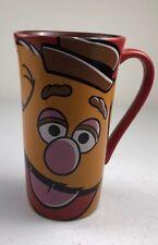 Disney Store Genuine Authentic Tall Ceramic Fozzie Bear Tumbler Coffee Mug Cup