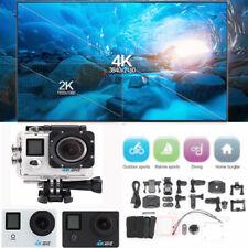 Sport Action Camera DV 4K 1080P 2.0'' LCD 170° Wide Angle HD Cam WiFi Waterproof