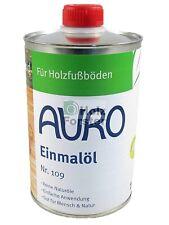 AURO Einmalöl PurSolid Nr. 109 transparent, Mengenwahl