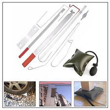 10PCS/SET Lock Out Key Lose Set Air Wedge Thin Wide Bar Kit For Opening Car Door