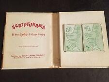 SCRIPTURAMA - 1954 Bible Card Game