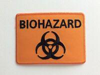 D012 Parche Insignia Biohazard 10 7