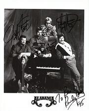 "Alabama  Autographed Reprint 8"" x 10"" glossy photo print"