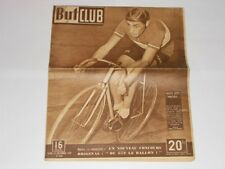 But et Club Magazine 12th December 1948 Fausto Coppi Cover French Cycling/Sports