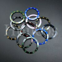 Ceramic Bezel Insert to fits for Seiko SKX007/009 Watches MOD Engrave 38MM