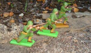 Vintage Britains deetail WWII American infantry