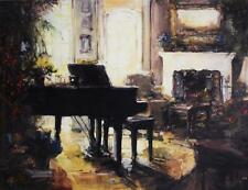 """Stephen Shortridge """"At Peace with Yourself"""" Hand Embell/Str 30x40 gicl Canvas"""