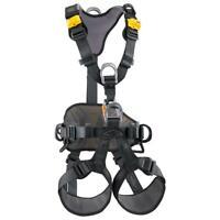 Petzl AVAO Bod Harness Black/Yellow Size 1