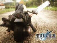 NEW Final Fantasy VII Advent Children Square Enix Play Arts No.0 Cloud & Fenrir