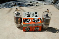 2 NOS GE 6JS6C Electronic Tube - In Box - vacuum valve compactron