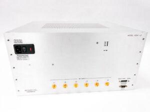 WEINSCHEL AEROFLEX 6341-2 800 - 2200 MHZ 6 CHANNEL 63 DB DIGITAL RF ATTENUATOR