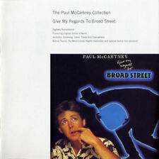 THE PAUL McCARTNEY COLLECTION GIVE MY REGARDS TO BROAD STREET CD [NEW]
