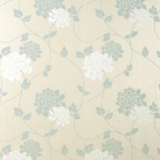 Laura Ashley Isodore Duck Egg Wallpaper (Same Batch) * FREE DELIVERY *