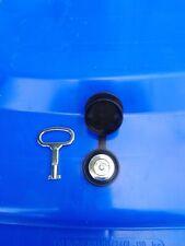 Wheelie bin lock,easy to fit & strong FREE HOLESAW with WATERPROOF cap