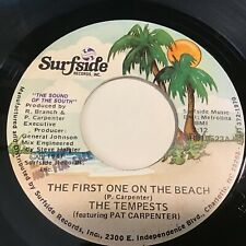 The Tempests: The First One On The Beach / (There Will) Never Be 45 - Beach Soul
