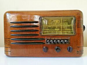 Pre WW 2 Antique Packard Bell Tube Radio 35-n DELUXE