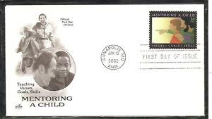 US SC # 3556 Mentoring A Child  - FDC. Artcraft Cachet.