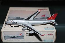 Herpa Wings 1:500 Northwest Airlines Boeing 747-400 OVP