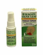 Seagate Products Homeopathic Olive Leaf Throat Spray (pack of 1... Free Shipping