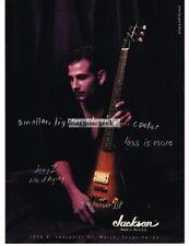 1997 JACKSON JJP Electric Guitar JOEY Z Life Of Agony Vtg Print Ad