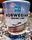 NCL Norwegian Cruise line GETAWAY Cruise Ship INAUGURAL SEASON SHOT GLASS