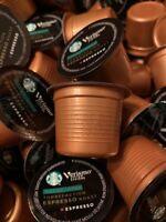 Starbucks Verismo Decaf Espresso Roast K-fee Professional Pods 288ct BBD 8/15/19