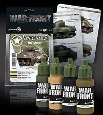 Scale 75 Scale Color Warfront Paint Sets: Wargames - US Army #SSE-034