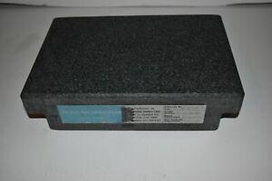 "^^ STANDRIDGE GRANITE CORP 8""X12"" HEAVY DUTY INSPECTION PLATE (XN107)"