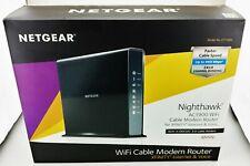 Netgear Nighthawk AC1900 C7100V-100NAS 4-Port Gigabit Wireless Router Excellent