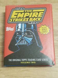 Star Wars The Empire Strikes Back Topps Trading Card Series Book w/ Bonus Abrams