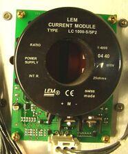 LEM Current module Type LC 1000-S/SP2 3pcs w/ extras