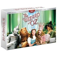 The Wizard of Oz (Blu-ray 3D/2D/DVD, 2013, 5-Disc Set, Collector's Edition;...