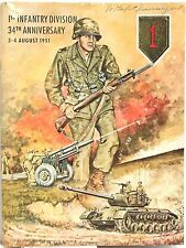 The First Infantry Division 34th Anniversary August 1951 ~ History & Celebration
