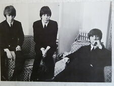 """3.5 x 5"""" clipframe with photo cutting of THE BEATLES"""