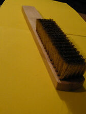 5x-6 Row Soft Brass Brush for Burnishing Metal Clay-Silver Clay-Art Clay-PMC