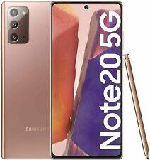 Samsung Galaxy Note 20 5G SM-N981B/DS 256GB Mystic Bronze Ohne Simlock NEU + OVP