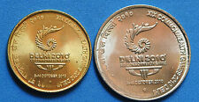 A  Rare Set of 2 Coins of XIX Commonwealth Games New Delhi Rs. 5 & 2   Coin