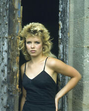 KIM WILDE GREAT EARLY 80'S POSE 8X10 COLOR PHOTO
