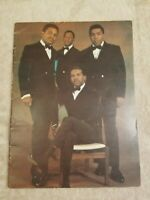 The Four Tops 1967 Reach Out Tour Program Guide Book