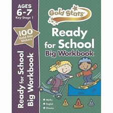 Gold Stars Ready for School Big Workbook Ages 6-7 Key Stage 1 by Parragon Books Ltd (Paperback, 2014)