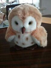 Vintage Little Hoot Owl Soft Toy 1998