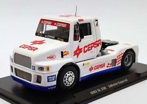 Fly GB Racing Track 1/32 Scale 08509 - SISU SL 250 #7 Slot Truck - White