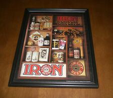 IRON CITY BEER PITTSBURGH PIRATES FRAMED COLOR PRINT - ALWAYS WAS ALWAYS WILL BE