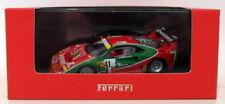 Voitures des 24 heures du mans de courses miniatures blancs Ferrari