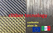 Lastra professionale in fibra di carbonio plain3k 900mmx1000mm  ®PROTOlamina
