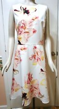 8835055fa98 NWT  160 White House Black Market Exploded Floral Fit   Flare Dress