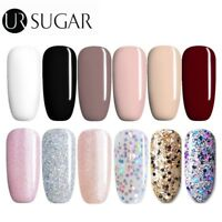 7.5ml UR Sugar UV Gel Nail Polish Soak Off Glitter Color Gel Varnish