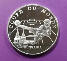 Médaille commémorative, Coupe du Monden 1998, equipe de Hongrie